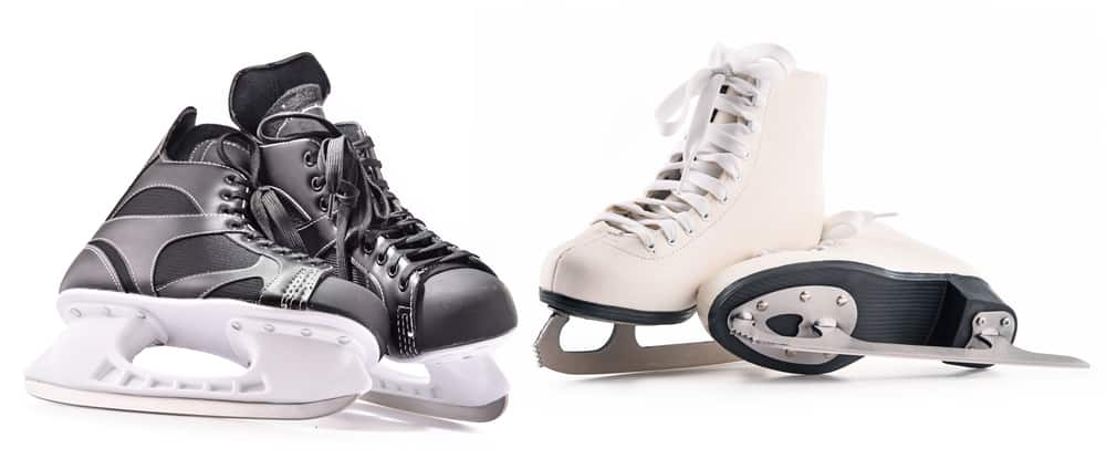 Men vs Women Beginner Ice Skates