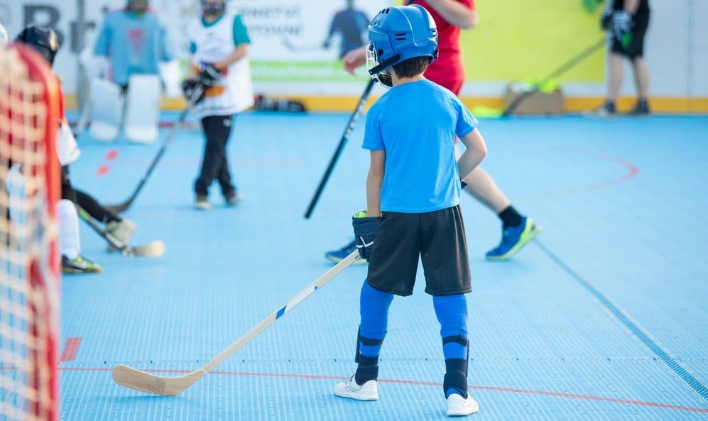 Wood Roller Hockey Stick