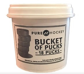 Bucket Of Pucks