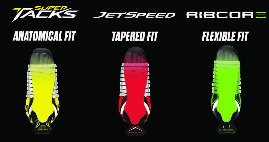 CCM Ribcor vs JetSpeed vs Tacks
