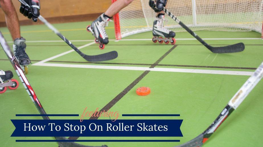 Roller Hockey Skates Stop