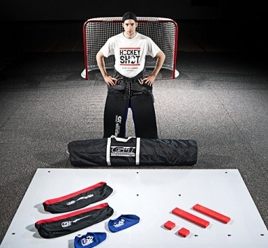 G1 Extreme Slide Board Goaltender Model