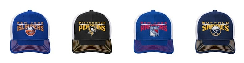 Hockey Team Hats